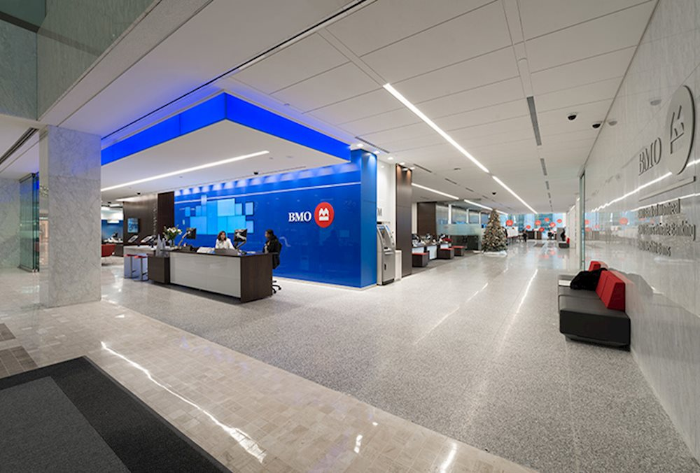 Bmo bank of montreal main branch first canadian place for Spa uniform suppliers cape town