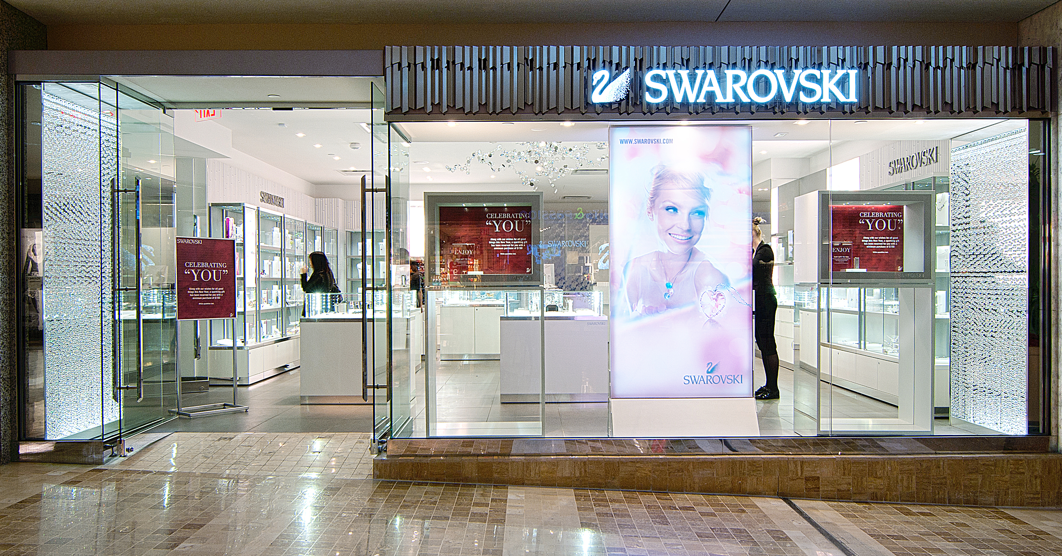 Swarovski's outlet and online stores offer crystal products you won't find anywhere else. The website offers easy-to-navigate categories for customers to browse, so you're sure to have an easy time finding exactly what you want.